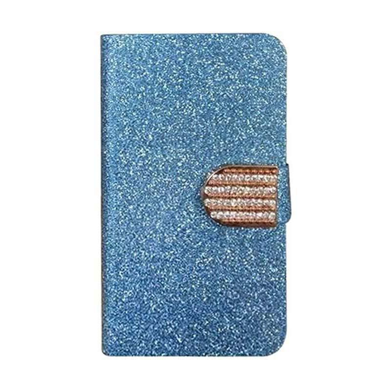 OEM Case Diamond Cover Casing for Samsung Galaxy Mega On or Galaxy O7 - Biru