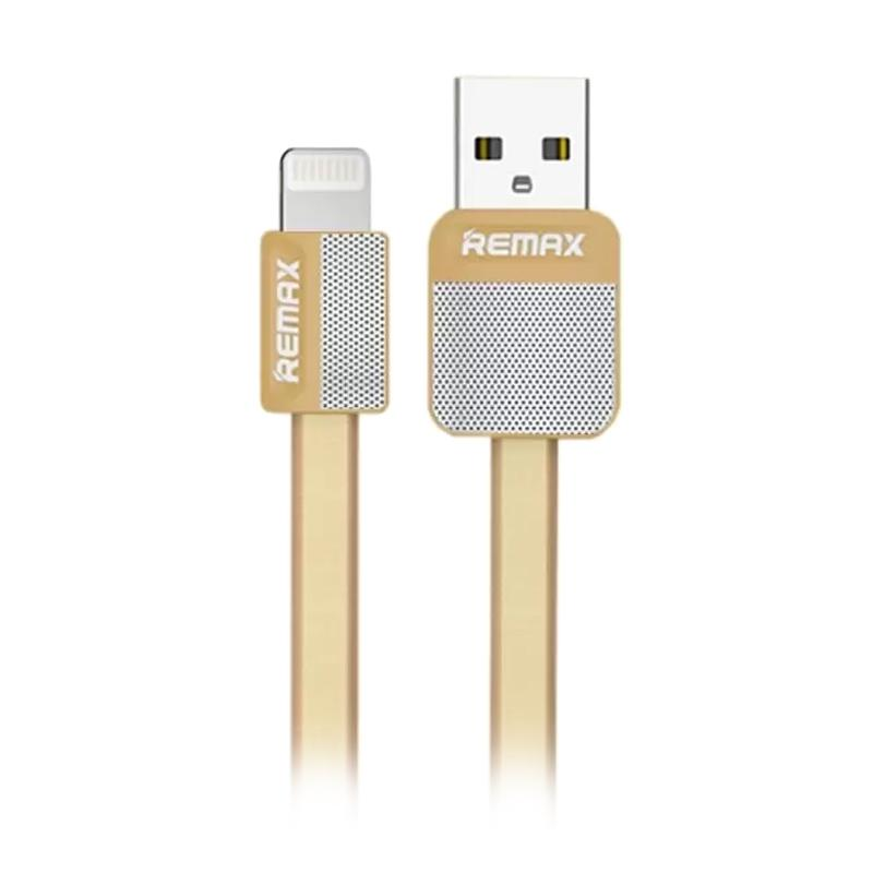 Remax Original Platinum Lightning Cable Fast Charging and Data Kabel - Gold
