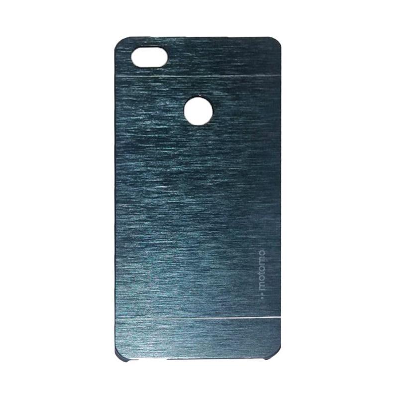 Motomo Metal Hardcase Backcase Casing for Xiaomi Mi 4s or Mi4s - Drak Blue