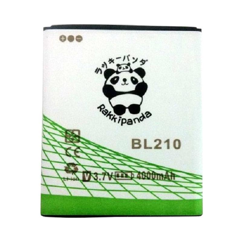 RAKKIPANDA Double Power Double IC Battery for Lenovo A536/S650/S820/A606/A328 [BL-210]