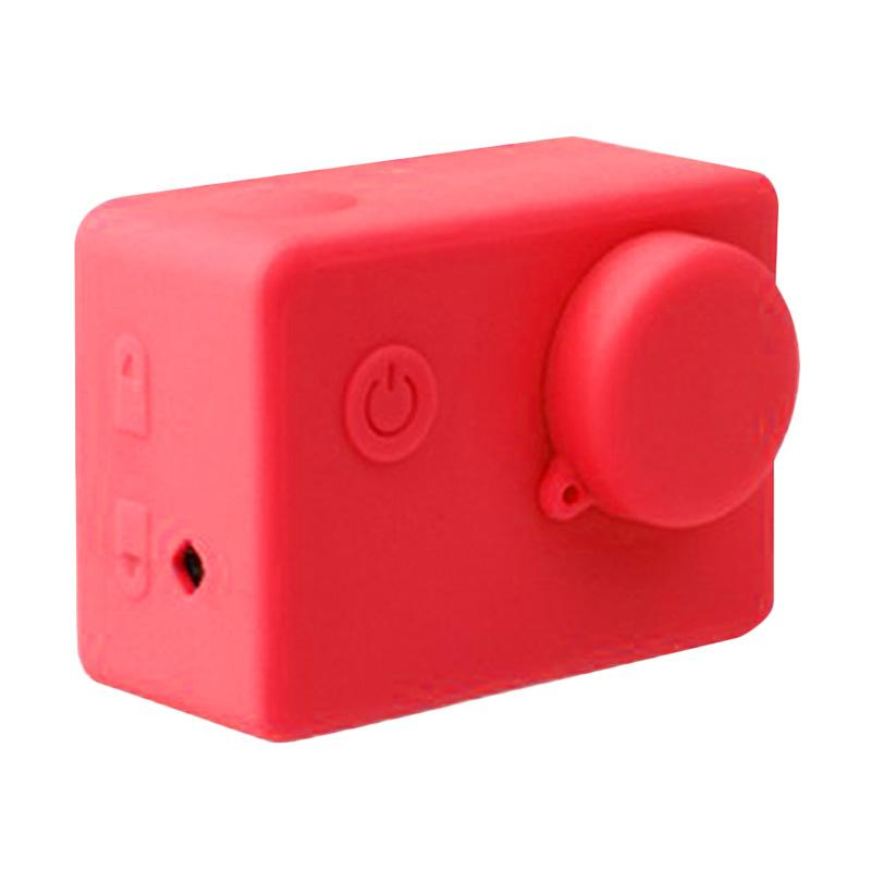 Brica Action Camera Silicone Case and Lens Cap Brica B-PRO Alpha Edition AE2 - Merah