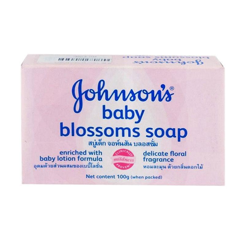 harga Johnsons Blossoms Baby Soap Sabun Mandi Batang Bayi [100 g] Blibli.com