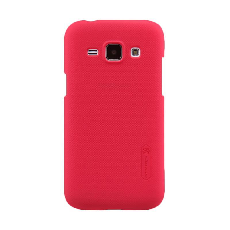 Nillkin Original Super Shield Hardcase Casing for Samsung Galaxy J1 - Red [1 mm]