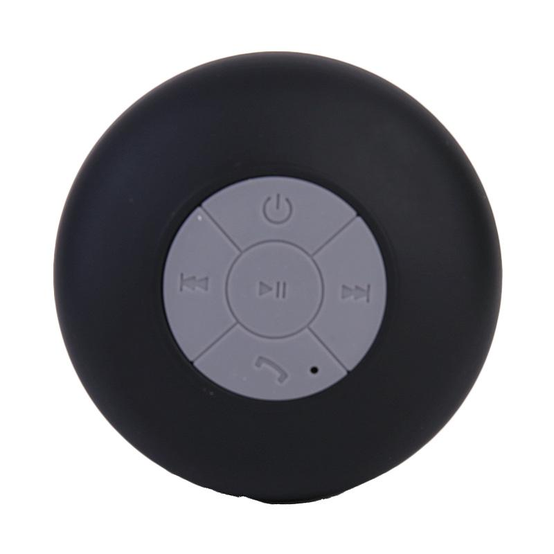 Ronaco BTS-06 Waterproof Shower Portable Bluetooth Speaker - Hitam