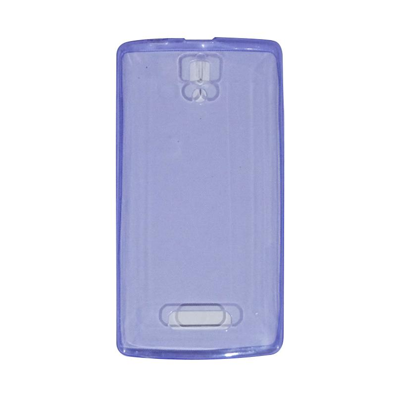 VR UltraThin Silicone Jellycase Softcase Casing for Lenovo A2010 - Purple