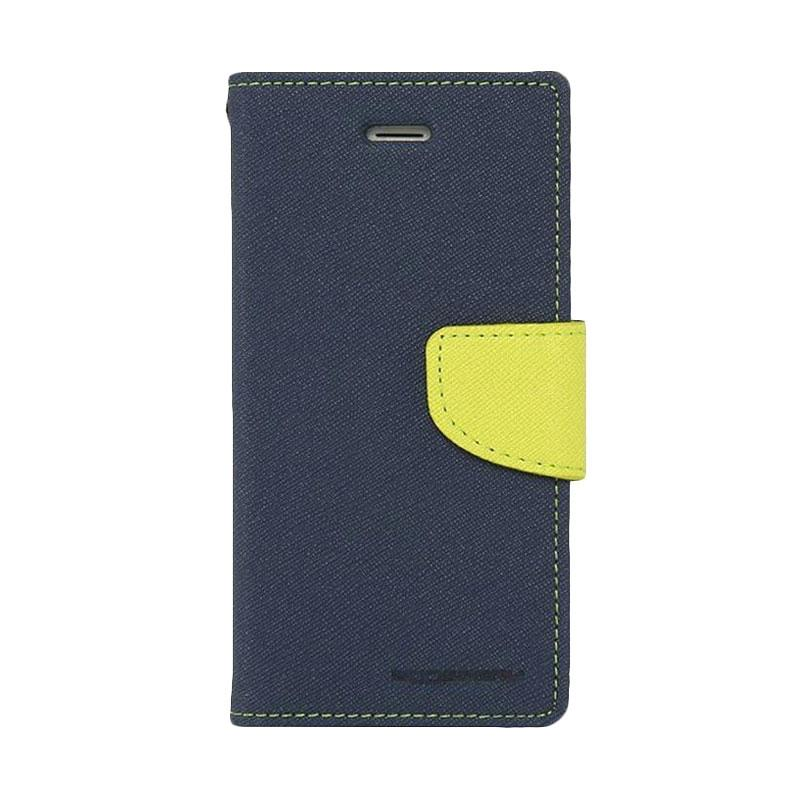 Mercury Fancy Diary Casing for Samsung Galaxy Note 5 N920 - Biru Laut Hijau Tua