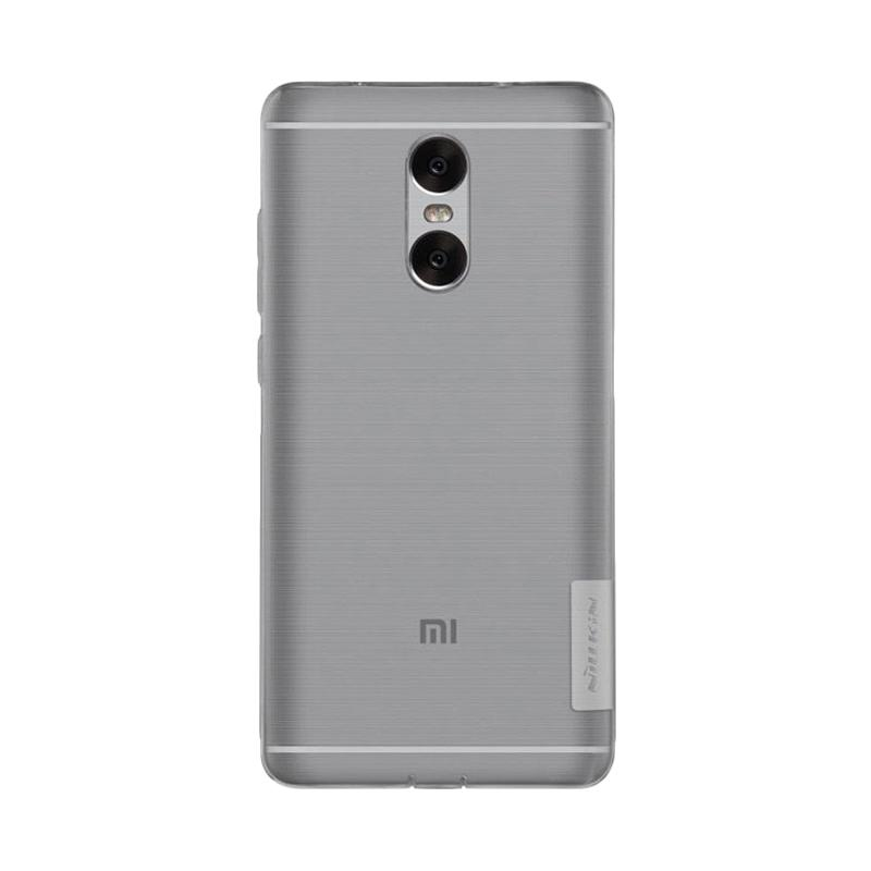 Nillkin ORIGINAL Nature Xiaomi Redmi Pro - Clear/Transparan Bening Ultrathin TPU Jelly Silicone Softcase