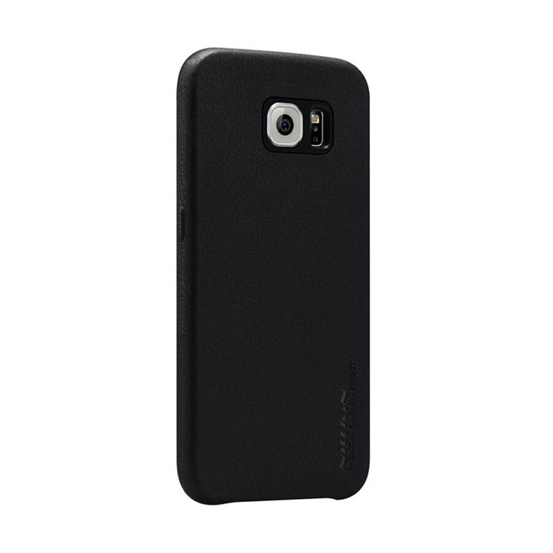 Nillkin Victoria Leather Series Casing for Samsung Galaxy S6 - Black
