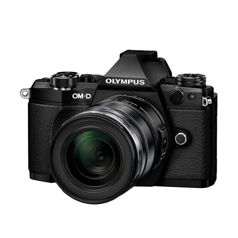 Olympus OM-D E-M5 Mark II Kit 14-150mm f/4.0-5.6 II + 45mm f/1.8 Kamera Mirrorless - Black