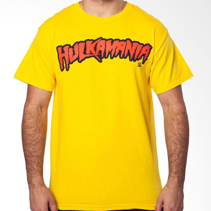 Jersi Clothing Hulkamania Velvet Print Kaos Pria - Yellow Extra diskon 7% setiap hari Extra diskon 5% setiap hari