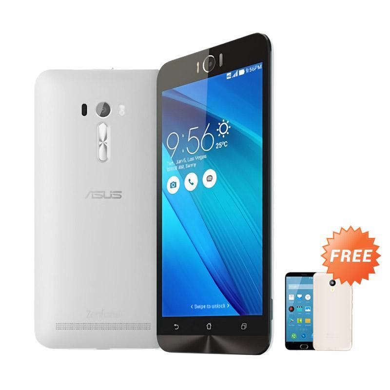 Ultrathin Aircase Casing for Zenfone Selfie 2D551KL + Free Ultra Thin - Clear