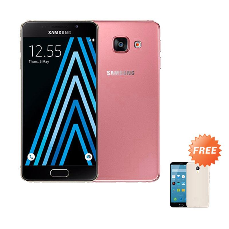 Ultrathin Casing for Samsung Galaxy A3 (2016) SM-A310F - Red Clear + Free Ultra Thin Casing