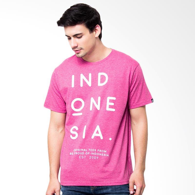 Be Proud of Indonesia Vintage Atasan Pria - Two Tone Pink Extra diskon 7% setiap hari Extra diskon 5% setiap hari