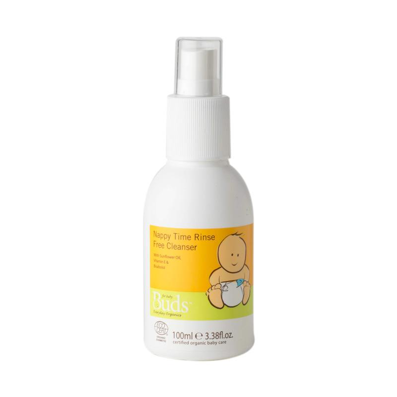 Buds Organics Nappy Time Rinse Free Cleanser Pembersih Popok Organik [100 mL]