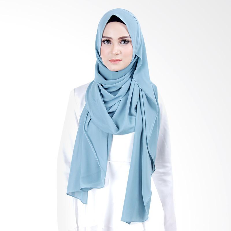 Cantik Kerudung Scarlett Slip In Instant Hijab - Dark Tosca