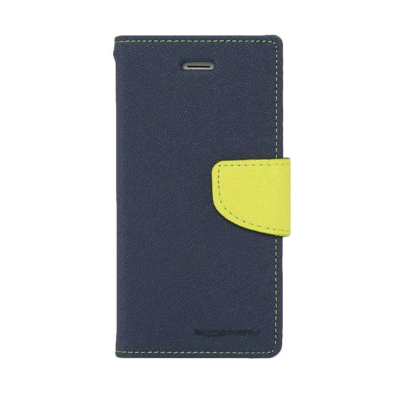 Mercury Fancy Diary Casing for Samsung Galaxy Note 7 N930 - Biru Laut Hijau Tua