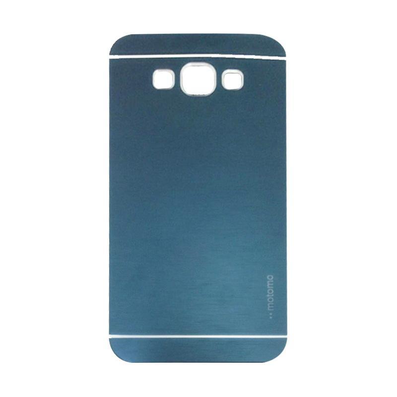 Motomo Metal Hardcase Backcase Casing for Samsung Galaxy A5 A500F - Dark Blue