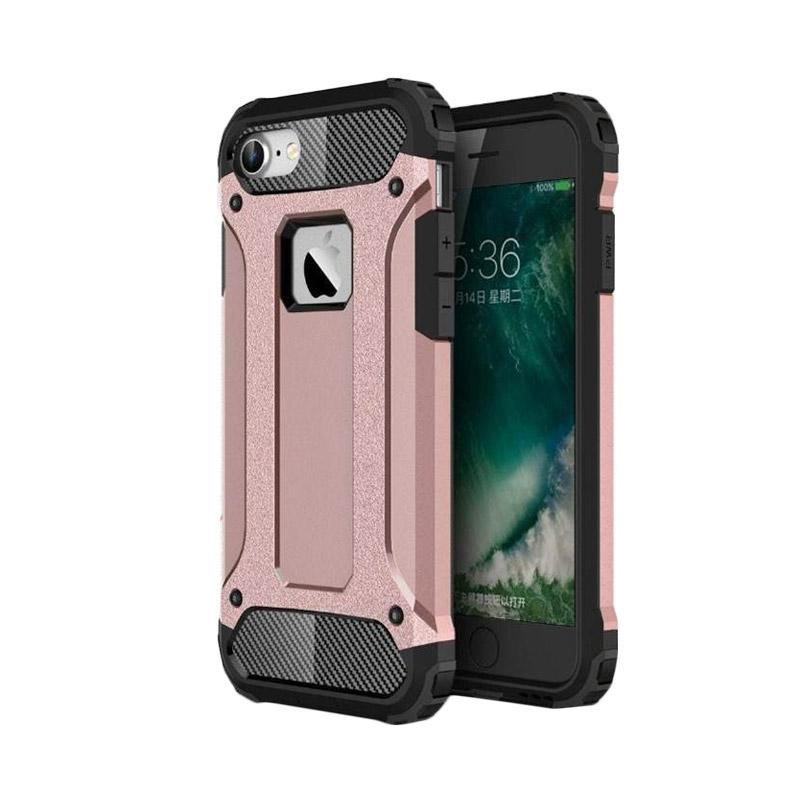 OEM Transformers Iron Robot Hardcase Casing for iPhone 6 4.7 Inch - Rose Gold