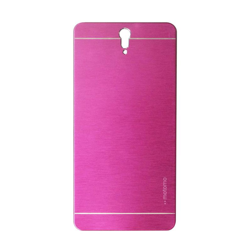 Motomo Metal Hardcase Backcase Casing for Sony Xperia C5 - C5 Ultra - Pink