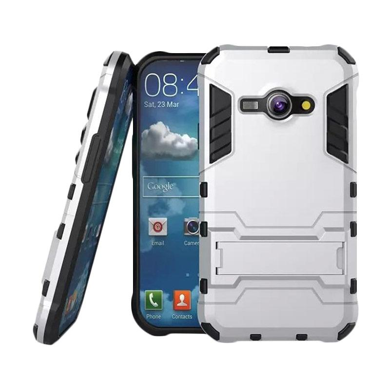 OEM Transformer Robot Iron Man Casing for Samsung Galaxy J5 2016 J510 - Silver