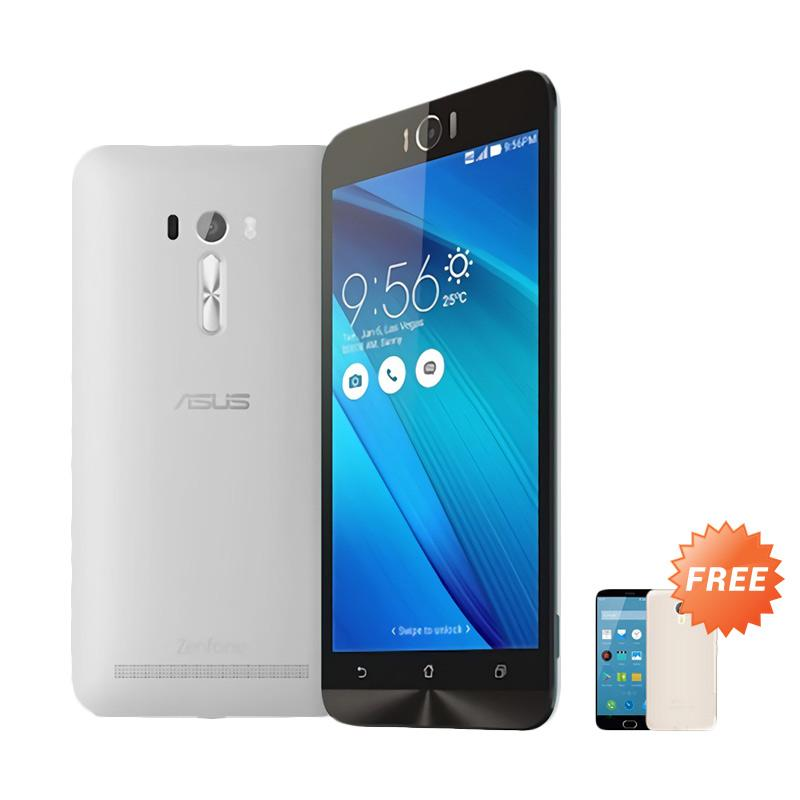 Ultrathin Aircase Casing for Asus Zenfone Laser 5.5 Inch - Clear + Free Ultra Thin Casing