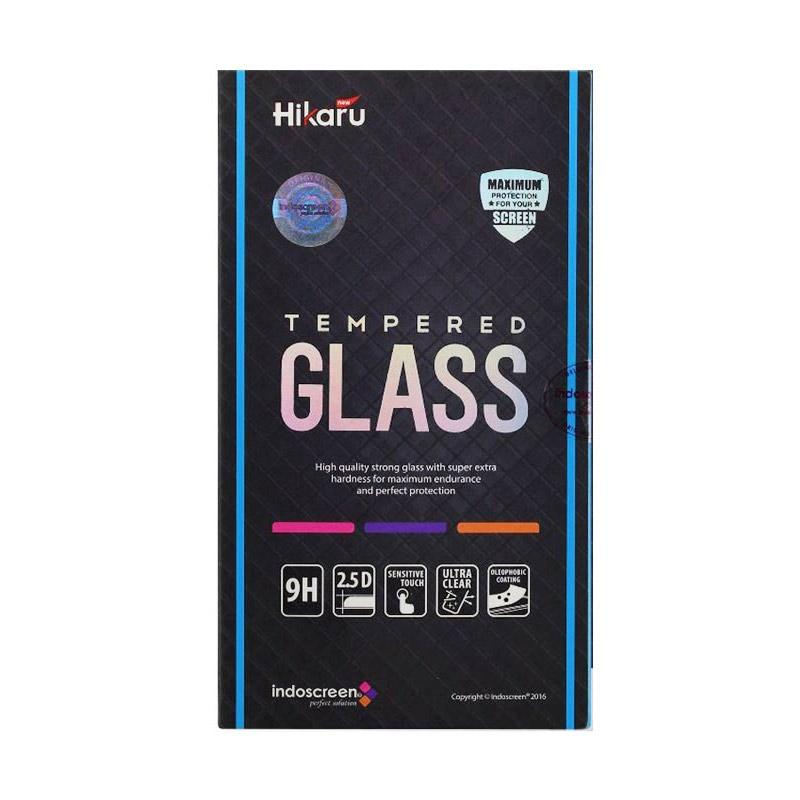 Hikaru Tempered Glass Screen Protector for iPhone 4G - Clear [Fullset]