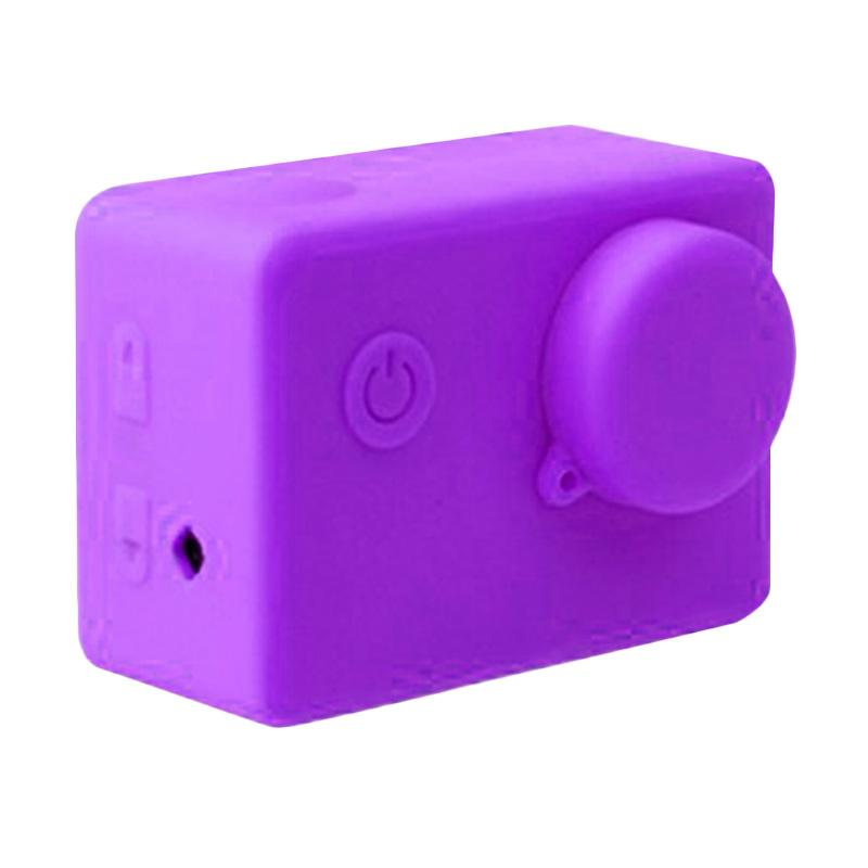 Brica Action Camera Silicone Case and Lens Cap Brica B-PRO Alpha Edition AE2 - Ungu