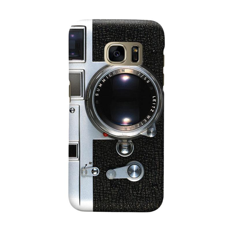 Indocustomcase Camera M3 Cover Casing for Samsung Galaxy S7