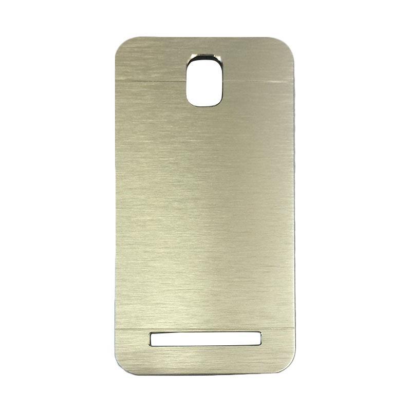Motomo Metal Backcase Hardcase Casing for Asus Zenfone C ZC451CG - Silver