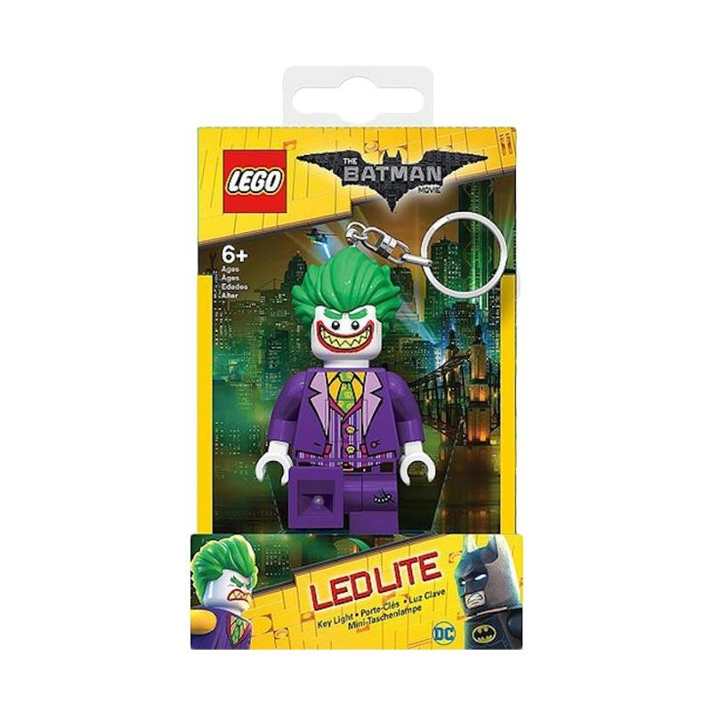 LEGO LEDLITE Super Heroes Batman Movie The Joker LGL-KE106 Gantungan Kunci
