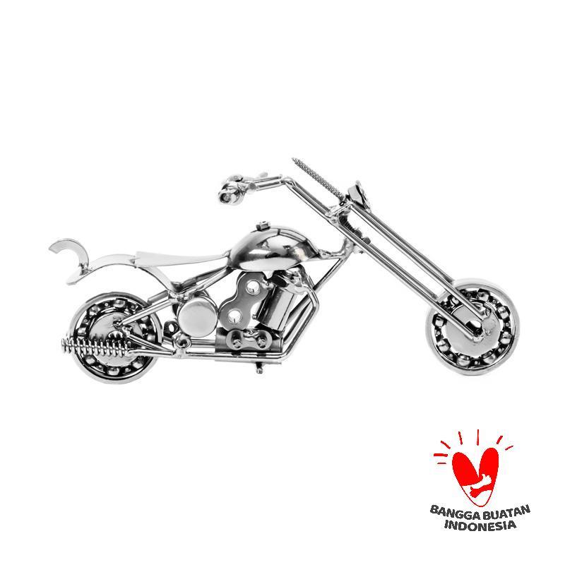 harga Mendekor Pengalap Hitam Hiasan Sepeda Motor Besi Antik Dekorasi Pajangan Blibli.com