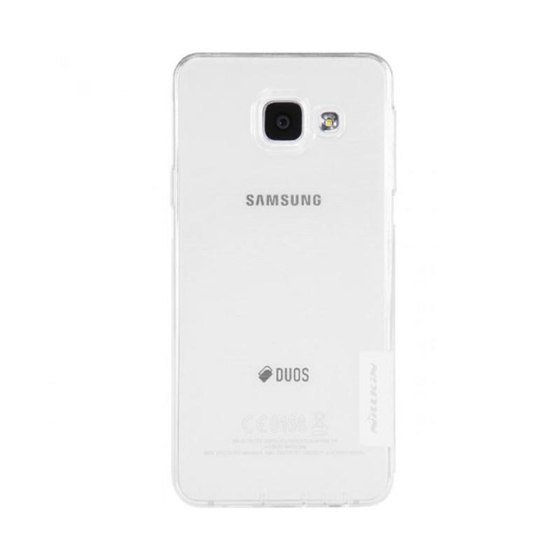 Nillkin Nature Ultrathin Original Casing for Samsung Galaxy A3 2016 - Clear [0.6 mm]