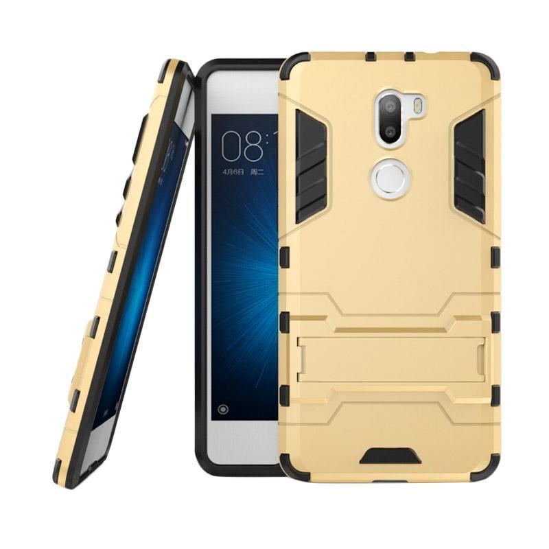 OEM Transformer Robot Iron Man Casing for Xiaomi 5S/Mi5S/Mi 5S Plus - Gold