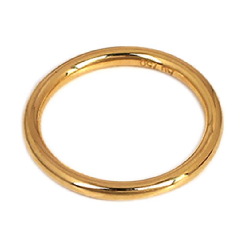 Tiaria Imperial Emas Berlian Cincin [18K/Semua Ukuran]