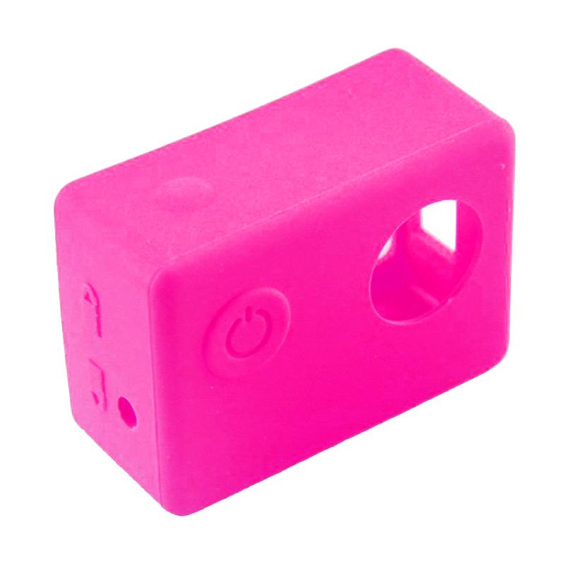 Brica Action Camera Silicone Case and Lens Cap for B-PRO Alpha Edition AE2s - Pink