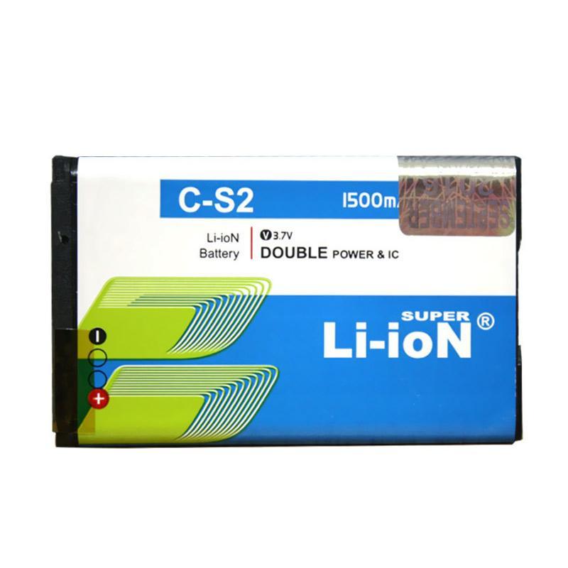 harga Li-ion Super Battery for BlackBerry Gemini 8520 or BlackBerry Gemini 9300 [1500 mAh] Blibli.com