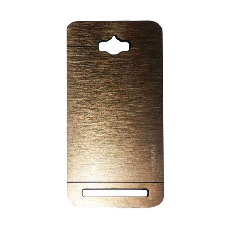 Motomo Metal Backcase Hardcase Casing for Asus Zenfone Max ZC550KL - Gold