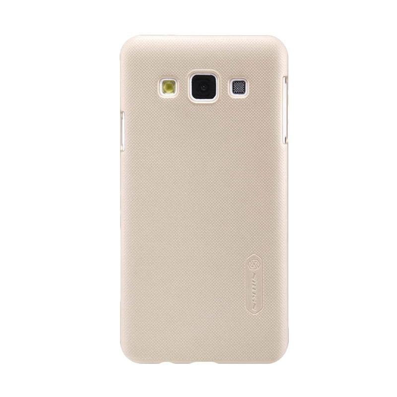 Nillkin Original Super Shield Hardcase Casing for Samsung Galaxy A3 - Gold [1 mm]