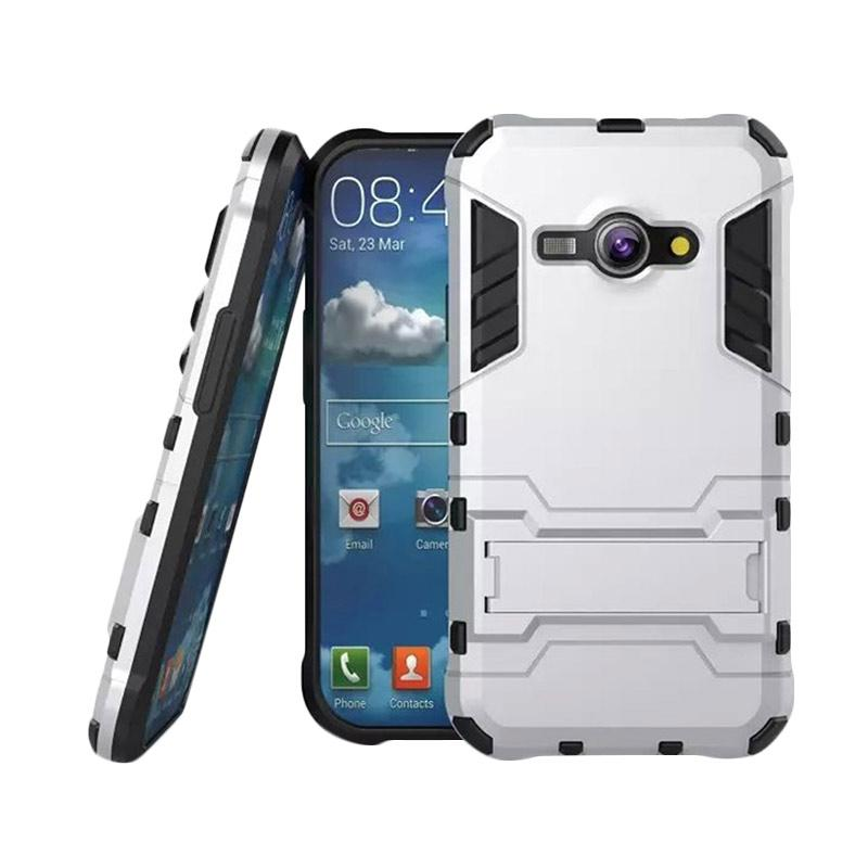 OEM Transformer Robot Iron Man Casing for Samsung Galaxy J7 2016 J710 - Silver