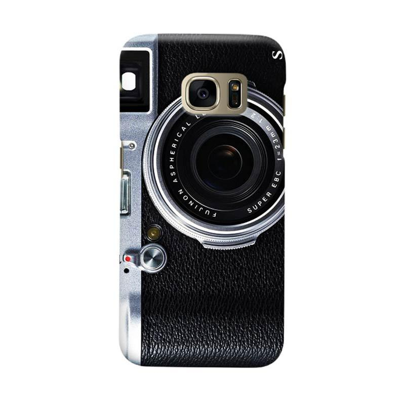 Indocustomcase Camera FF Cover Casing for Samsung Galaxy S7