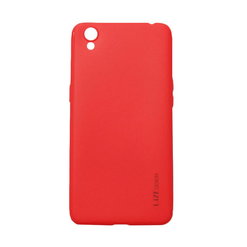 Lize Design Softshell Softcase Colorful Casing for Oppo A37 or Neo 9 - Red