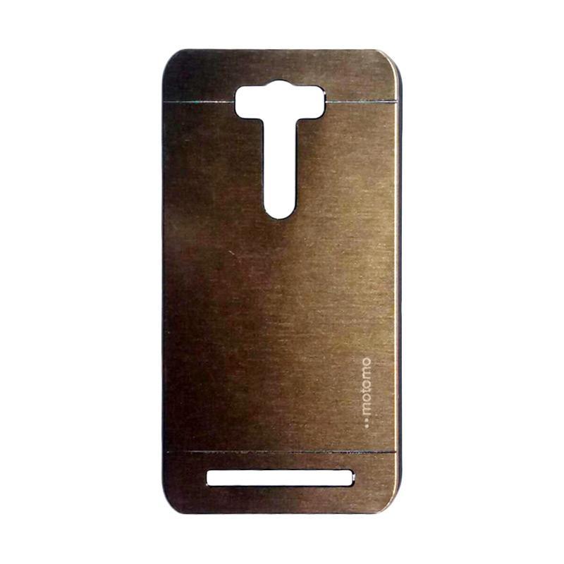 Motomo Metal Hardcase Casing for Asus Zenfone 2 Laser ZE601KL 6.0 Inch - Gold