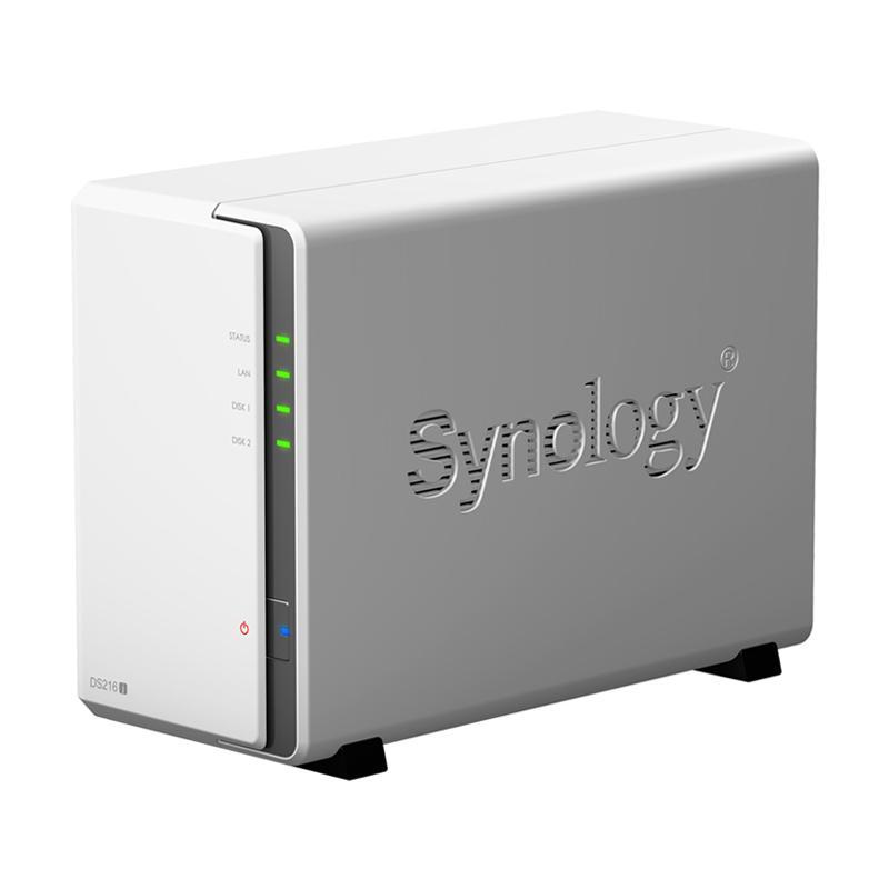 Synology DS216j DiskStation 2-Bay NAS Server External Storage