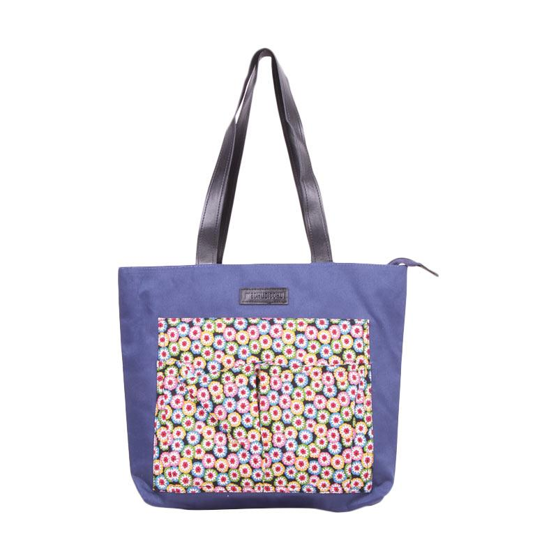 Machupicchu Tote Bag Canvas to Motif BTO-13 Tas Wanita - Sun Flower