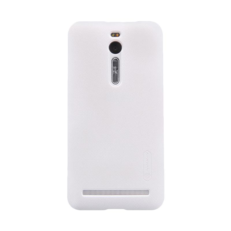 Nillkin Original Super Shield Hardcase Casing for Asus Zenfone 2 5.5 Inch - White [1 mm]