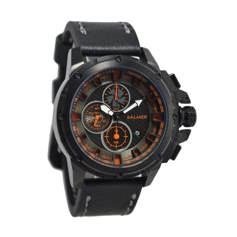 Balmer Casual Man D48H675B7905MHTMO Chronograph Leather Strap Jam Tangan Pria