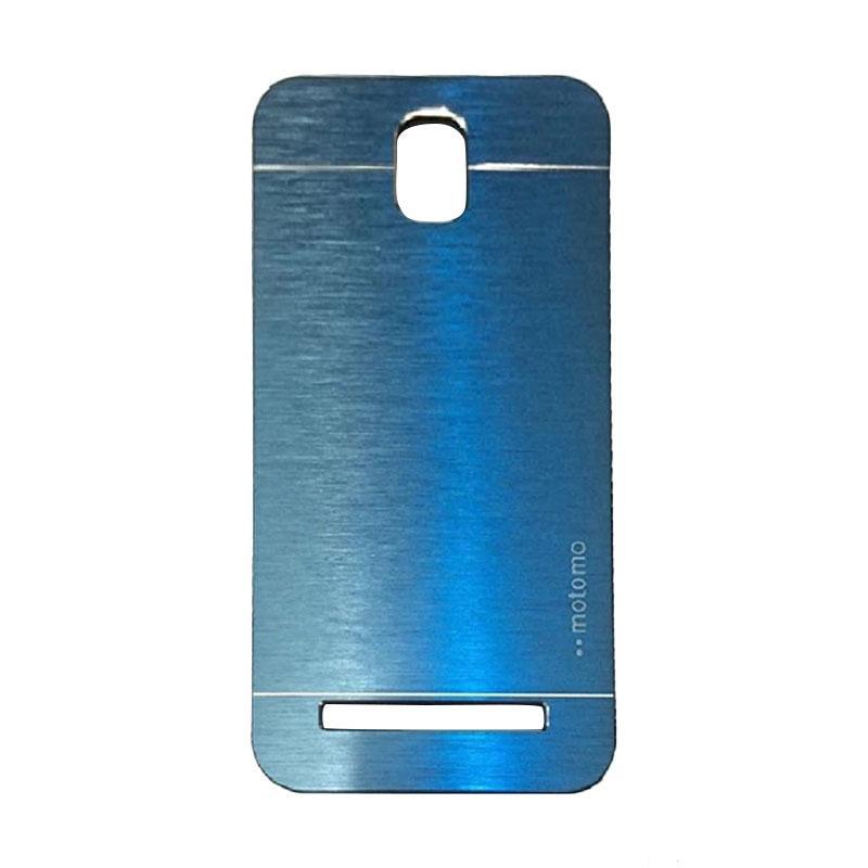 Motomo Metal Hardcase Backcase Casing for Asus Zenfone C ZC451CG - Dark Blue