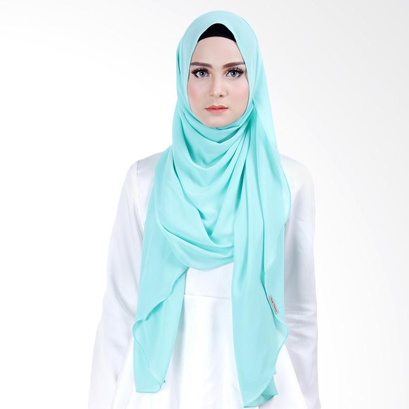 Cantik Kerudung Scarlett Slip In Instant Hijab - Mint Green