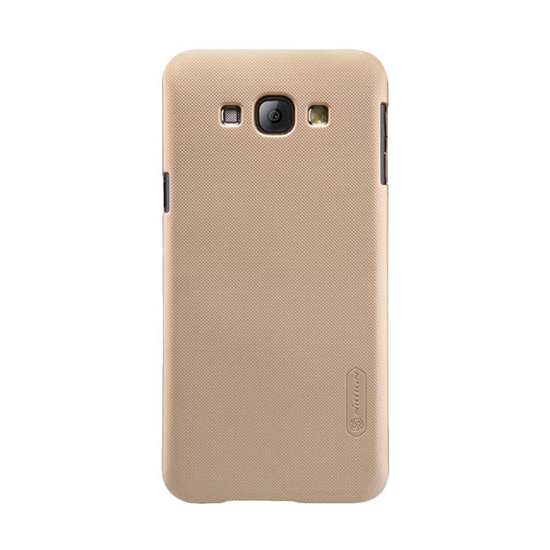 Nillkin Super Shield Original Hardcase Casing for Samsung Galaxy A8 - Gold [1 mm]
