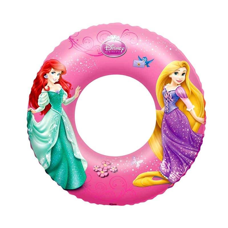 Chanel7 Bestway 91043 Swimring Princess Ban Bulat Anak - Pink [56 cm]